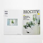 季刊誌「BIOCITY」の表紙に採用されました