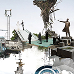 音楽劇「わが町」発表公演用宣伝美術/作品制作