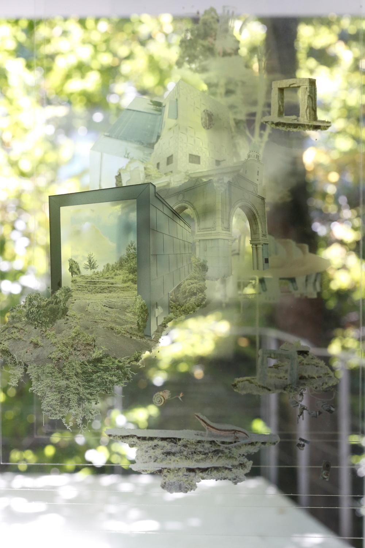 クスミエリカ個展「変転のコリドー」