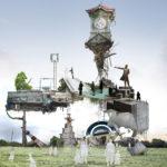 音楽劇「わが町」発表公演用宣伝美術